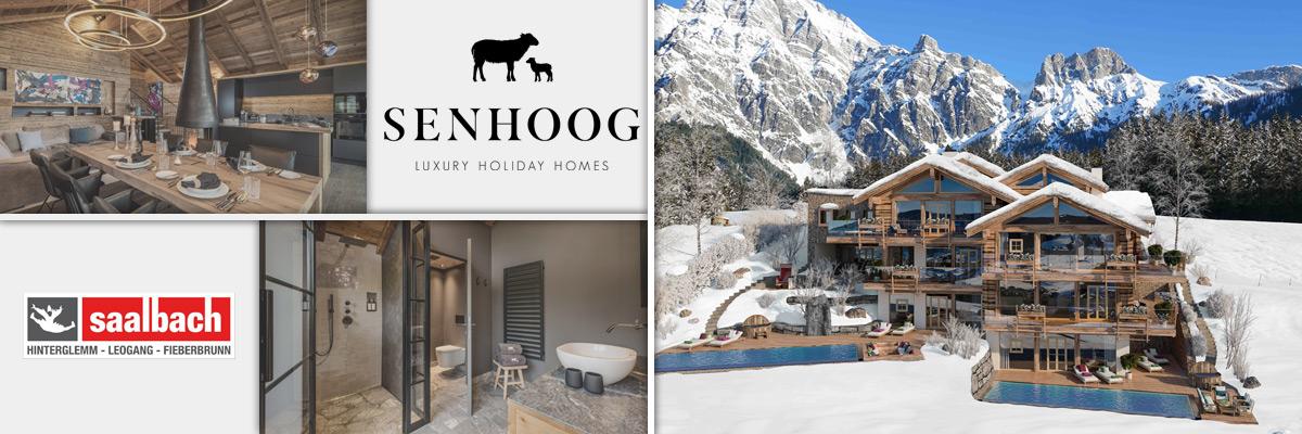 SENHOOG Leogang - Romantischer Winterurlaub Chalets Salzburger Land